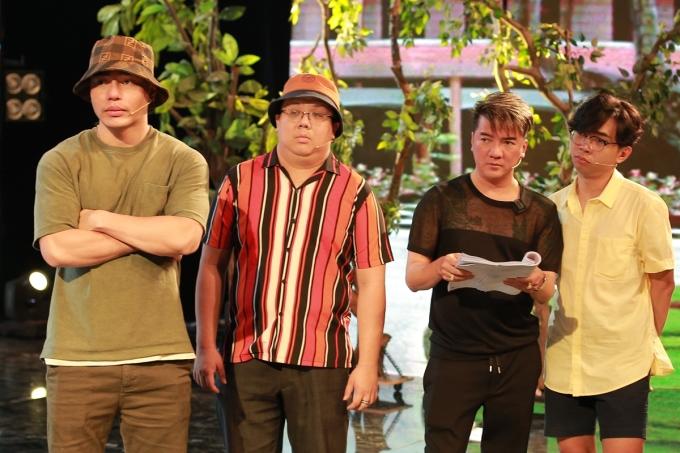 Chương trình có còn sự tham gia của Lê Dương Bảo Lâm, Gia Bảo (từ trái qua)