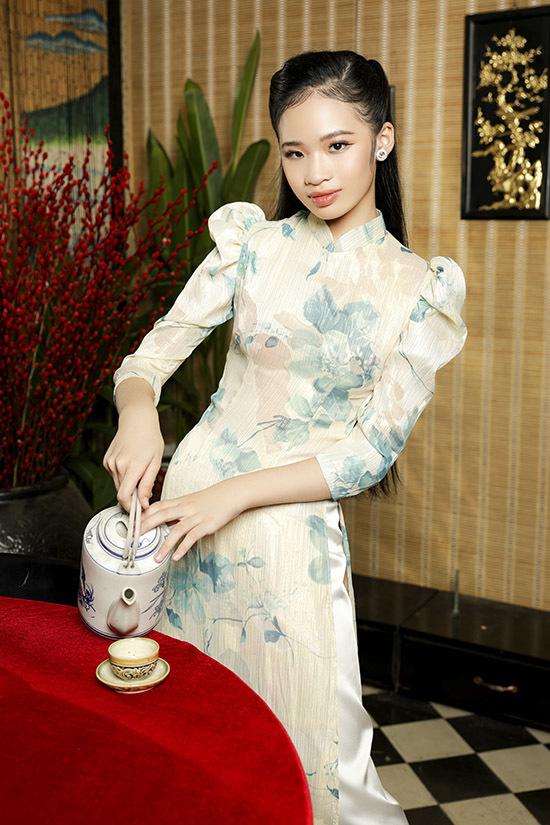 Mùa Tết năm nay cô bé đắt show làm mẫu ảnh. Bảo Hà hào hứng thể hiện các thiết kế áo dài mới của Bảo Bảo. Ở các sự kiện trang trọng của gia đình hoặc khi đi lễ chùa ngày đầu năm Bảo Hà hay mặc áo dài kiểu truyền thống kín đáo.