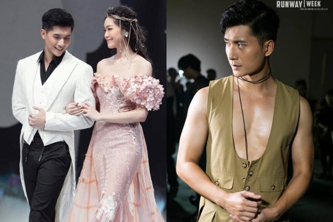 Thỉnh thoảng, Lâm Bảo Châu góp mặt ở các sự kiện thời trang. Ngoại hình cao ráo, gương mặt điển trai là lợi thế giúp anh gây chú ý bên cạnh chuyện đời tư.