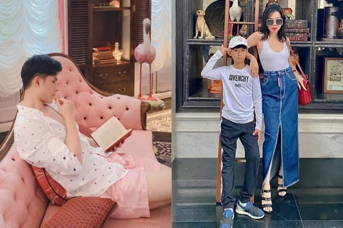 Khi rảnh rỗi, nam người yêu theo chân Lệ Quyên đi du lịch nhiều nơi. Dù vậy, họ không đăng tải hình ảnh chung với nhau. Trong hình, Lệ Quyên cùng tình trẻ và con trai đến Phú Quốc nghỉ dưỡng vào tháng 10/2020.