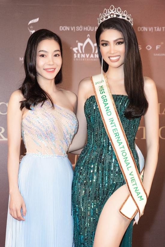 Bà Phạm Kin Dung - Phó Ban tổ chức Hoa hậu Việt Nam đánh giá cao sắc vóc và tinh thần chuyên nghiệp của Ngọc Thảo. Bà mong á hậu nỗ lực hết mình để đem vinh quang về cho nước nhà.