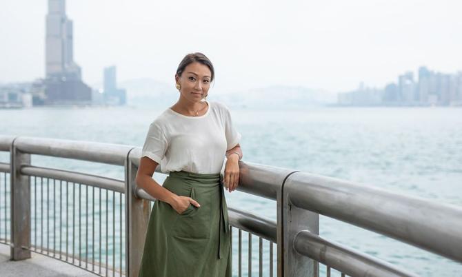 Veronica Chou, cháu gái tỷ phú Chao Kuang-piu. Ảnh: Bloomberg.