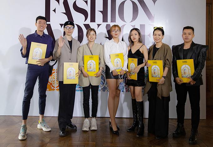 Trở thành một  trong 7 gương mặt giành được tấm vé trình diễn bộ sưu tập tại sự kiện thời trang lớn là điều vô cùng ý nghĩa với những tài năng trẻ của làng mốt.