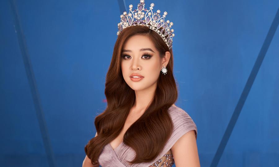 Khánh Vân giới thiệu quá trình tập luyện cho Miss Universe