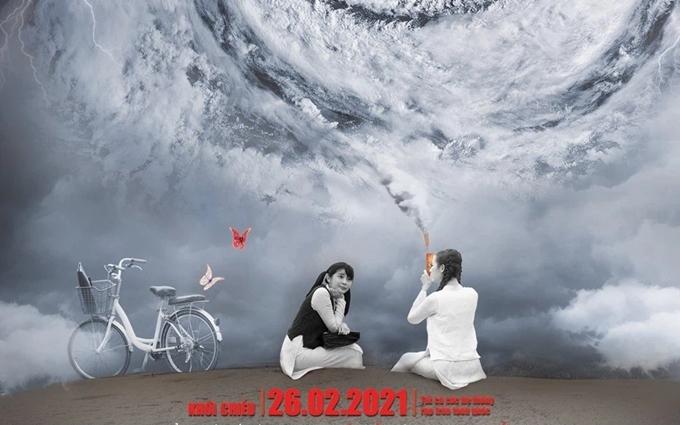 Cao Thái Hà (trái) và Phan Thị Mơ trong phim Kiều@.
