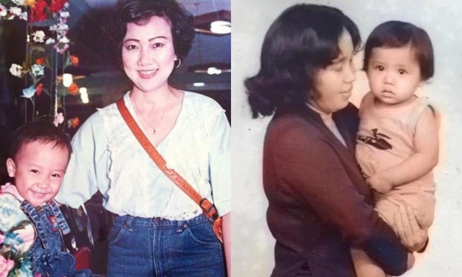 Thời trẻ của bố mẹ sao Việt