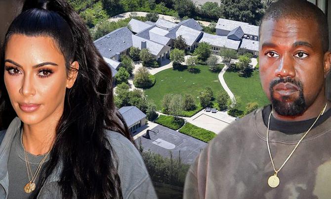 Kim được giữ biệt thự 60 triệu USD sau ly hôn