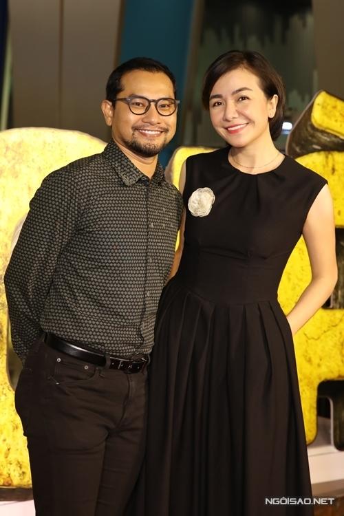Vợ chồng diễn viên Huỳnh Đông - Ái Châu.