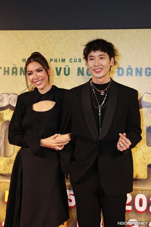Siêu mẫu Minh Tú và diễn viên Tuấn Trần.