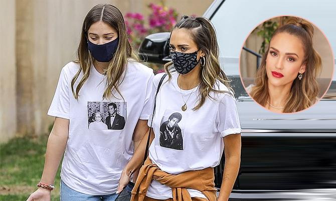 Jessica Alba và con gái 12 tuổi như chị em