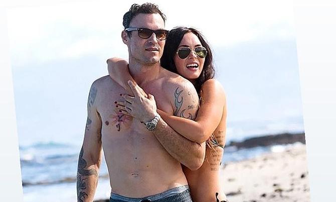 Chồng cũ Megan Fox bị chỉ trích khi chúc 8/3 các bạn gái cũ