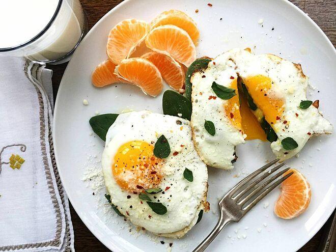 Bữa sáng lành mạnh giúp tăng hiệu quả giảm cân.