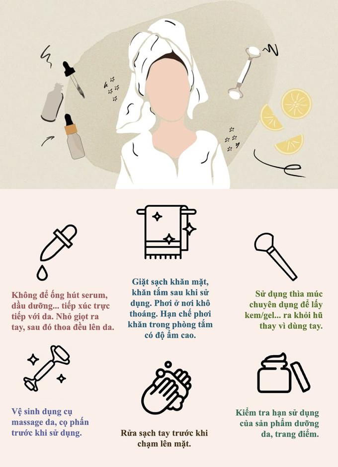 6 quy tắc cơ bản giữ da khỏe đẹp, tránh kích ứng