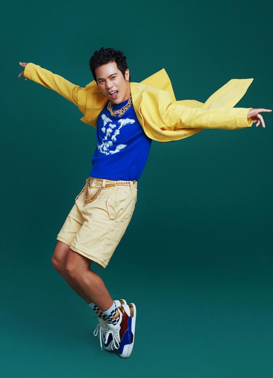 Diễn viên Trần Phong của phim Mắt biếc là thành viên trẻ nhất trong đội Uyên Linh.