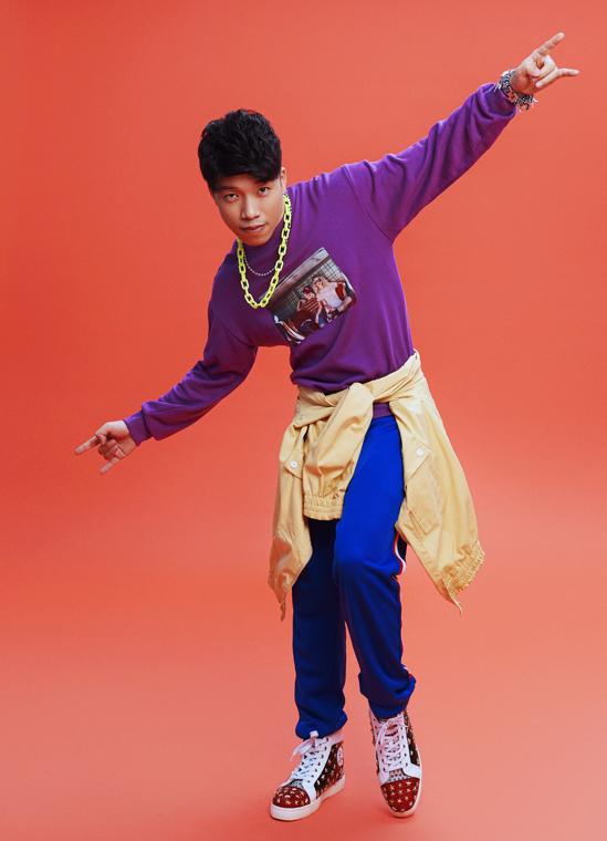 Á quân Gương mặt thân quen 2020 -  beatboxer Thái Sơn luôn mang đến những màn trình diễn bất ngờ tại Trời sinh một cặp.
