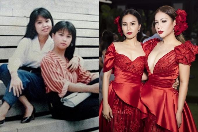 Trở về thời điểm của hơn 25 năm trước, hai chị em Cẩm Ly - Minh Tuyết mang vẻ đẹp tươi mới, tràn đầy sức sống.