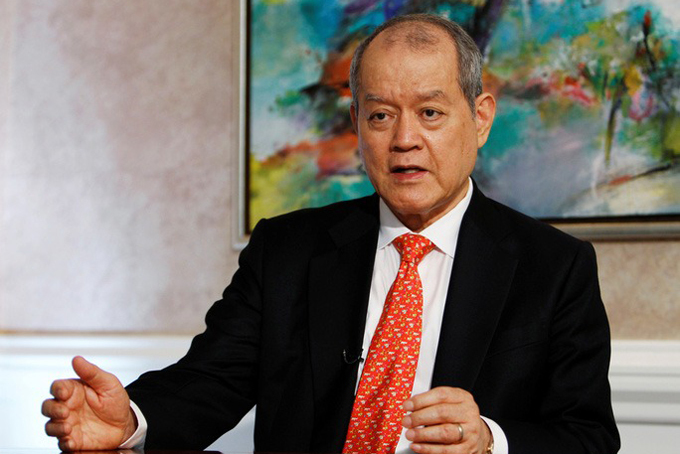 Tỷ phú Singapore Lim Oon Kuin, nhà sáng lập Hin Leong Group. Ảnh: Reuters.
