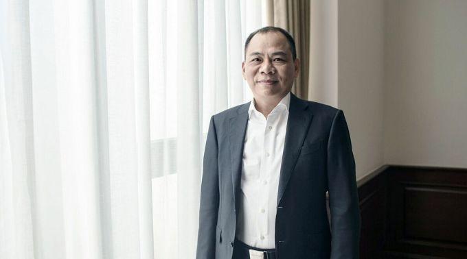 Ông Phạm Nhật Vượng, Chủ tịch Tập đoàn Vingroup. Ảnh: Bloombergs.