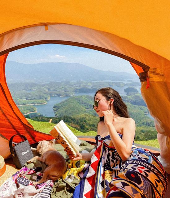 Cắm trại hồ Tà Đùng - trải nghiệm
