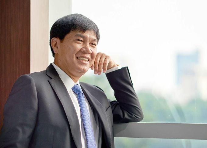 Ông Trần Đình Long, Chủ tịch tập đoàn Hoà Phát. Ảnh: Hoà Phát