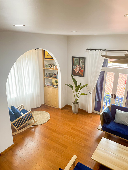 Phải mất 8 tháng ngôi nhà của anh mới hoàn thiện từ việc xây và thiết kế, phải sửa mất 3 lần anh Nhân mới ưng ý.
