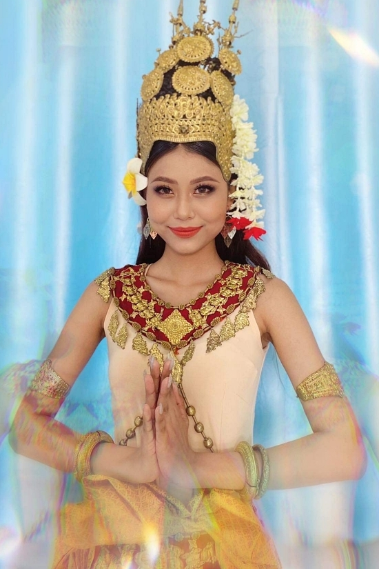 Bản sao Thanh Hằng dự thi Hoa hậu Thế giới VN 2021 - 2