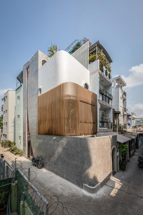 Dự án này là ngôi nhà nằm trong hẻm nhỏ dành cho một anh chàng độc thân.