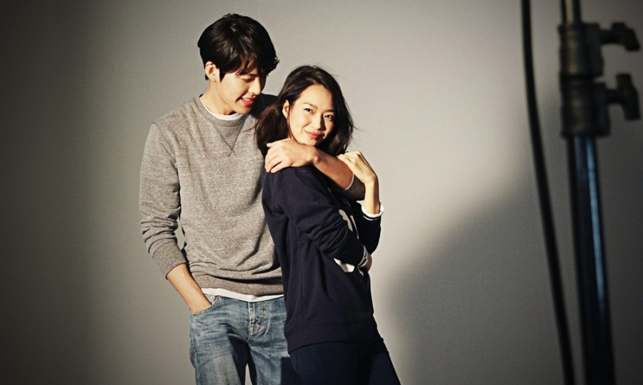 Kim Woo Bin lần đầu đóng phim cùng Shin Min Ah
