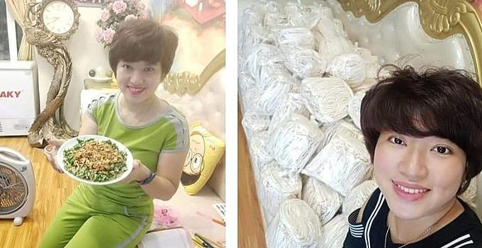 Chị Ngọc Anh nhận thấy bán hàng ăn là chạy nhất.
