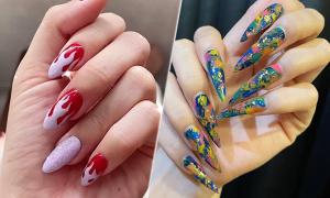 Bắt chước nails đón hè của sao Việt