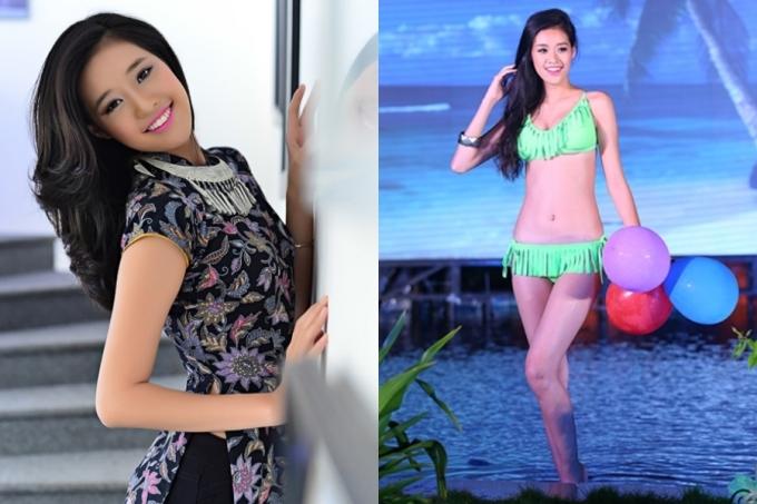 Dù vậy, Khánh Vân chỉ dừng ở mức xinh xắn, đường nét chưa thật sự cuốn hút. Năm 2014, mỹ nhân tiếp tục ghi danh Miss Ngôi sao do báo Ngoisao.net tổ chức và giành giải Á khôi 2.