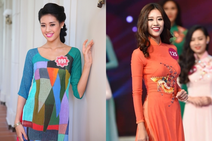 Khánh Vân ghi danh liên tiếp hai cuộc thi Hoa hậu Việt Nam 2014 (trượt top) và Hoa hậu Hoàn vũ Việt Nam 2015 (top 10). Không thể tiến xa, cô vẫn được đánh giá là nhân tố tiềm năng, tính cách thân thiện, lễ phép.