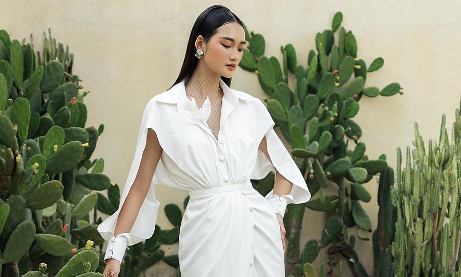 Váy mùa hè của NTK Hà Thanh Huy