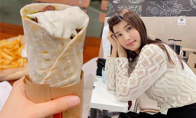 Cuộn kebab đầy sốt béo của Diễm My 9X