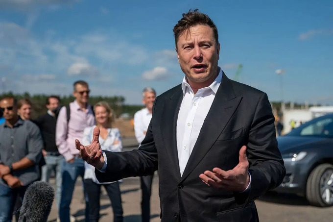 Tỷ phú Mỹ Elon Musk.
