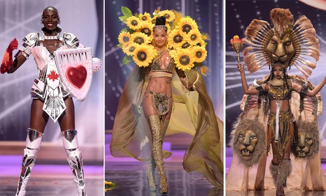 Trang phục dân tộc độc lạ của các thí sinh Miss Universe