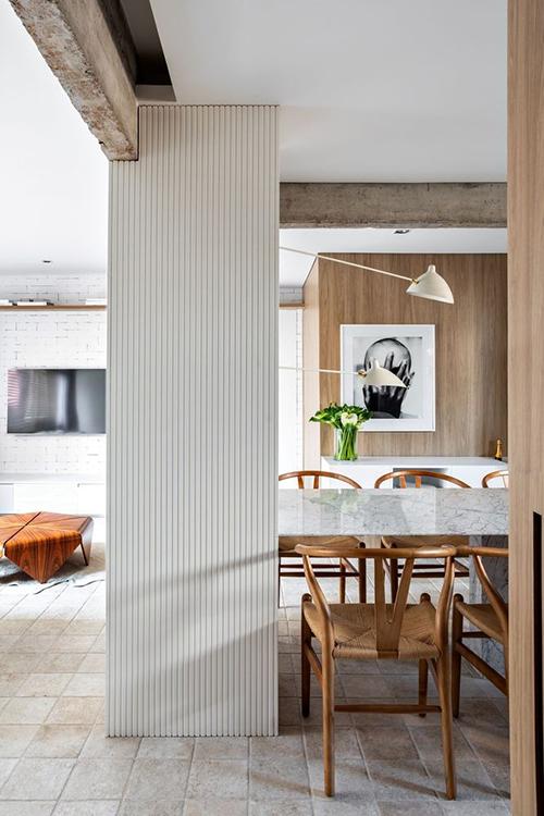 Căn hộ 93 m2 của cặp vợ chồng Brazil