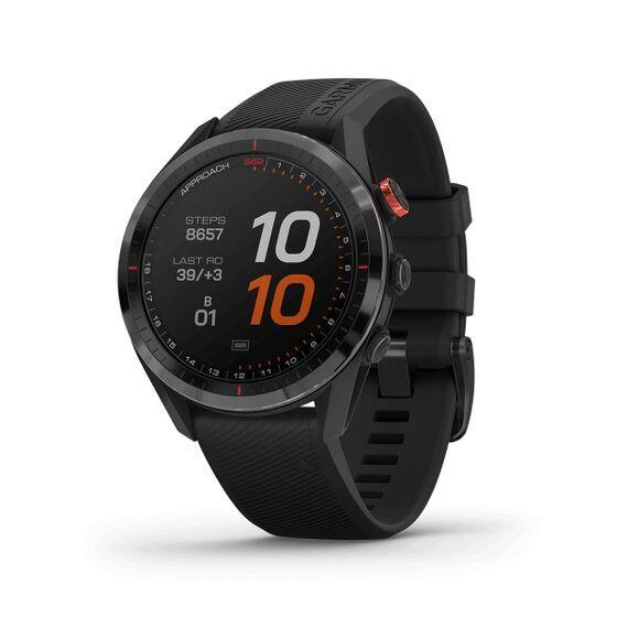 Đồng hồ Garmin Approach S62, Golf GPS - Đen12.990.000đGarmin Approach S62 là chiếc đồng hồ GPS Golf cao cấp tích hợp ánh xạ màu đầy đủ với thông tin quan trọng- bao gồm theo dõi cú đánh với gậy cảm biến Approach CT10 - trên cổ tay.- Đồng hồ vẫn hiển thị rõ nét mặc cho ánh nắng mặt trời- Với hơn 41.000 sân được tải sẵn, bạn sẽ biết sân của bạn ở ngay trên chính cổ tay- Một caddie là tất cả của bạn, tất cả thời gian - biết đánh trúng vào cái gì và nhắm vào đâu.- Muốn các trận đấu, dữ liệu nâng cao và nhiều hơn nữa? Tải ứng dụng Garmin Golf.- Kết nối với nhiều sân hơn. Nhận thông báo gửi ngay đến đồng hồ của bạn.- Biết cú đánh của bạn ở đâu với cảm biến theo dõi tự động Approach CT10.