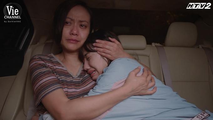 Hai mẹ con Hồng Ánh - Trịnh Thảo khóc hết nước mắt trong tập 27 Cây táo nở hoa.