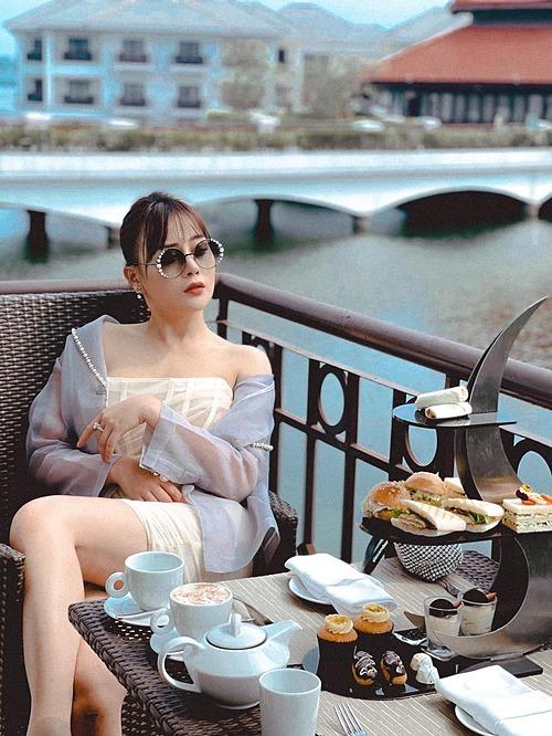 Diễn viên Phương Oanh tâm đắc với bí quyết để có được may mắn, hạnh phúc trong cuộc sống: Sống thật, sống tốt (tử tế), tích đức.