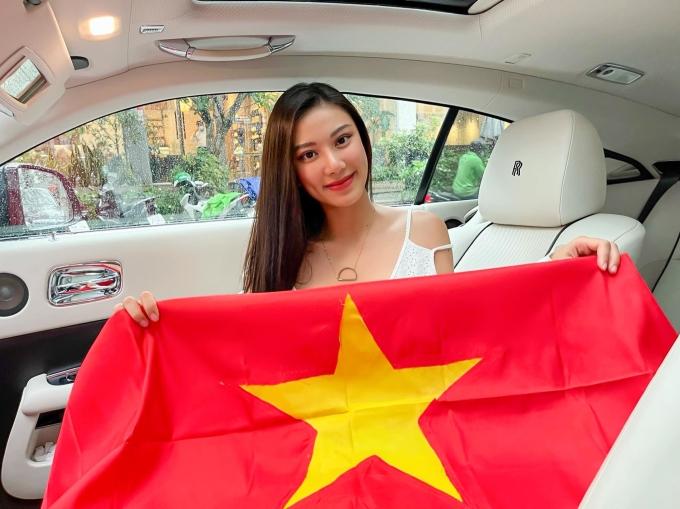 Á hậu Kim Duyên chúc bóng đá Việt Nam tiếp tục toả sáng tại World Cup năm nay.