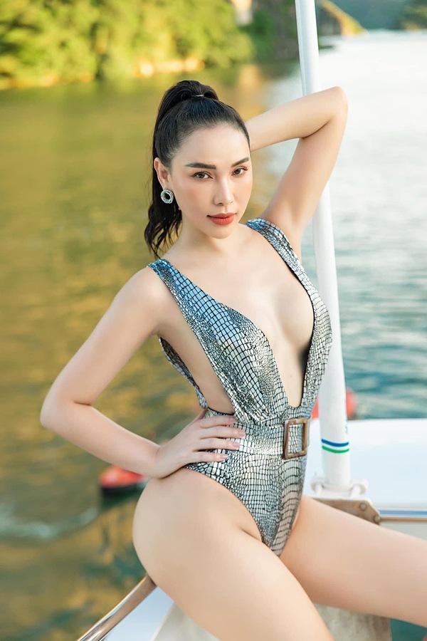 Vóc dáng bạn gái sexy của Tiến Linh - 5