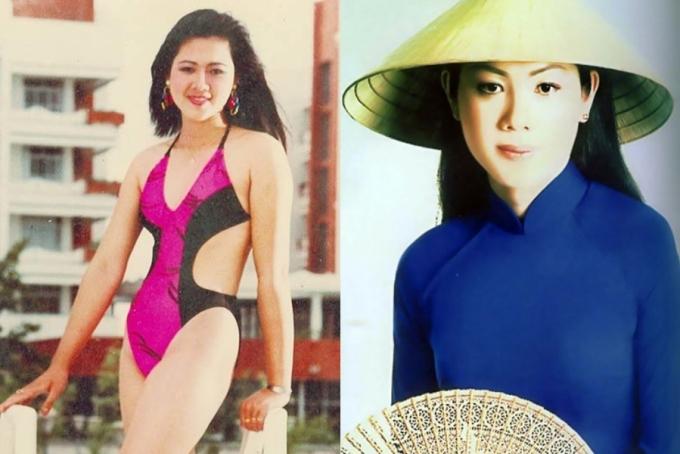Nhan sắc của á hậu Vi Thị Đông tuổi 46