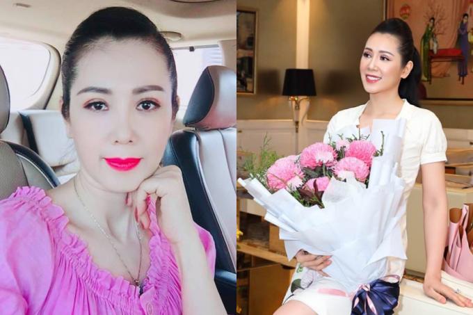 Nhan sắc của á hậu Vi Thị Đông tuổi 46 - 2