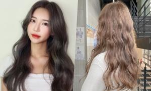 10 sắc thái màu nhuộm nâu thời thượng như gái Hàn