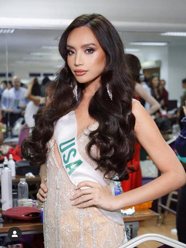 Kataluna mang hai dòng máu Mỹ - Philippines và từng tham gia cuộc thi Hoa hậu Chuyển giới Quốc tế 2018.