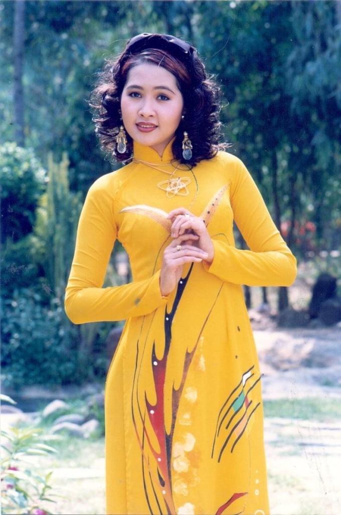 Diễn viên Minh Thư.