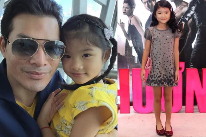 Trần Bảo Sơn tiết lộ con gái càng lớn càng giống anh về ngoại hình lẫn tính cách.