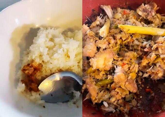 Món cá bốc mùi yêu thích của HHen.