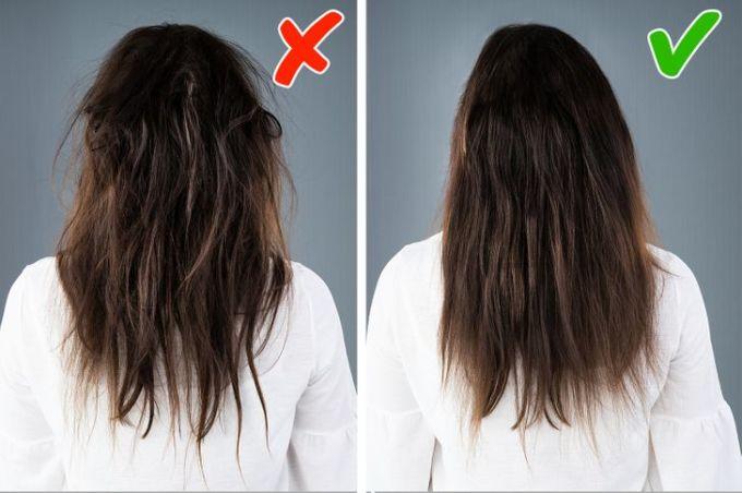 Mái tóc nhận được đầy đủ dưỡng chất sẽ dễ vào nếp hơn.